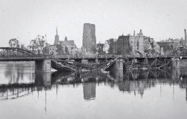 Czerwona łuna nad Wrocławiem
