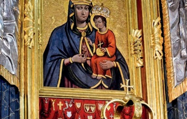 Wizerunek Matki Bożej słynący wieloma łaskami
