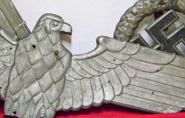 Niemiecka wrona zzamku Muzeum Historii Miasta wRzeszowie