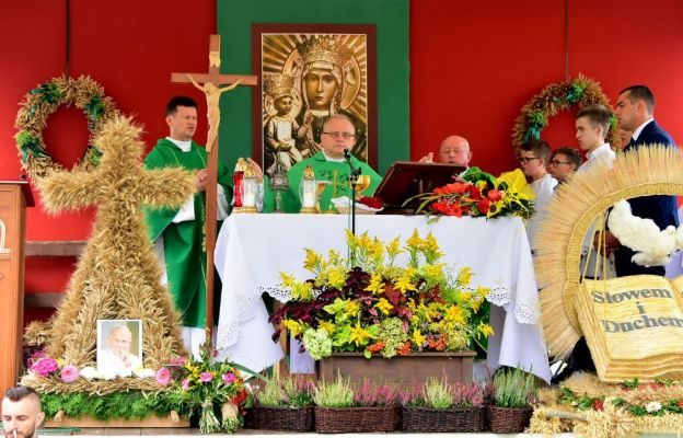 Msza świ. dziękczynna za tegoroczne plony