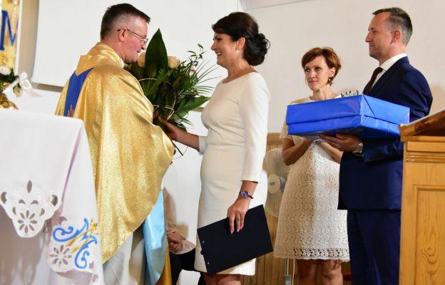 Podziękowanie ks. Kuśmierczykowi od wdzięcznych parafian