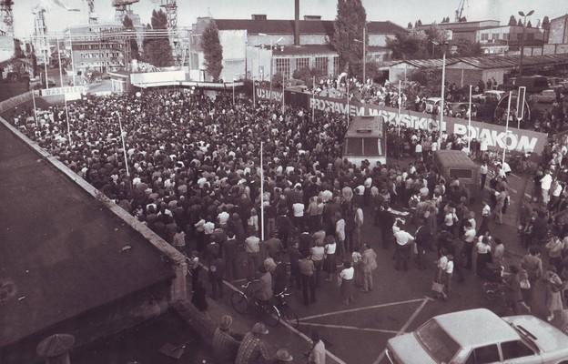 Strajk w Stoczni Szczecińskiej im. Adolfa Warskiego, 18 sierpnia 1980