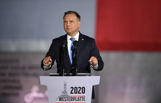 Prezydent na Westerplatte: to miejsce jest symbolem bohaterstwa polskich żołnierzy