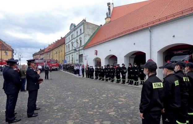 Uroczystości strażackie w Lubomierzu