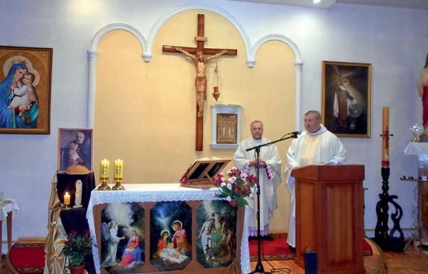 Bp Cyryl Klimowicz i o. Mirosław Zięba