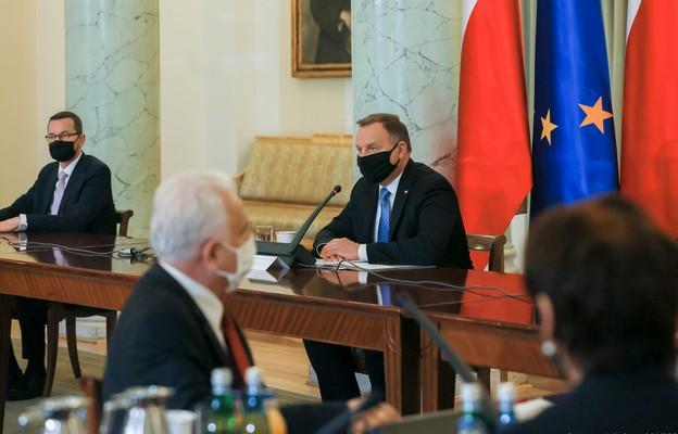 Pałac Prezydencki   Posiedzenie Rady Gabinetowej