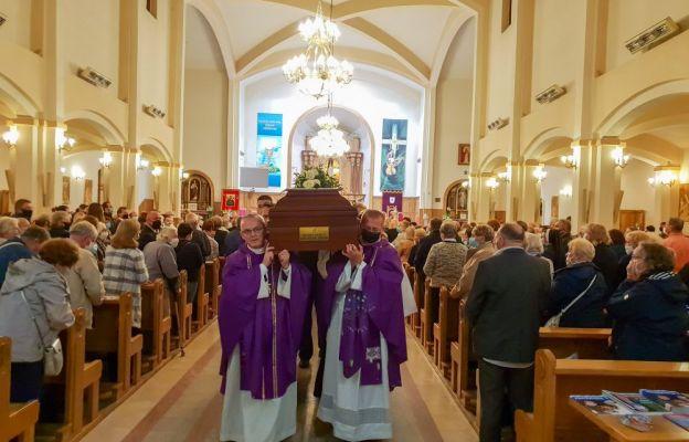 W Łodzi pożegnano ś.p. ks. prał. Zdzisława Banula