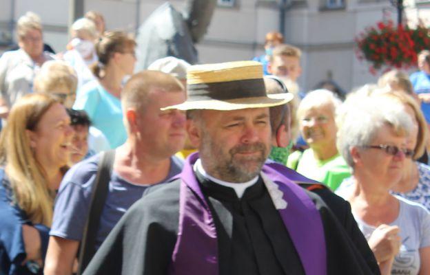 Ks. Piotr Kopera podczas tegorocznej pielgrzymki na Jasną Górę (2)