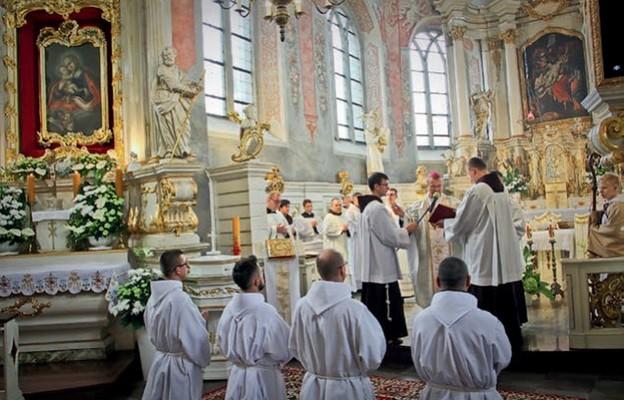Święcenia diakonatu franciszkańskich alumnów