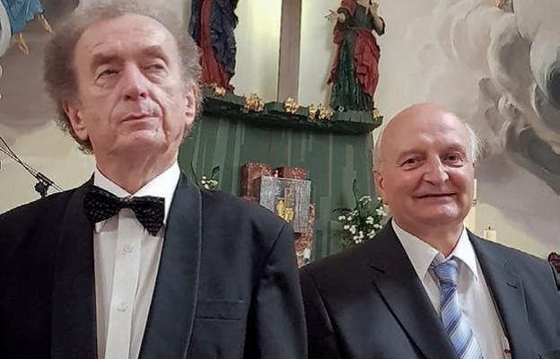 Adam Krużel iMarek Kudlicki wystąpili zkoncertem wLubaczowie