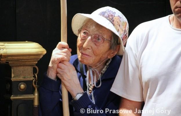 Emma Morosini na Jasnej Górze
