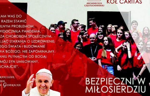"""""""Bezpieczni w Miłosierdziu"""" – spotkanie szkolnych kół Caritas"""
