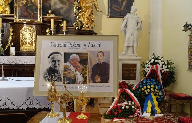 Św. Jan Paweł II, św. Maria Urszula Ledóchowska i bł. Maria Teresa Ledóchowska patronami Polonii w Austrii