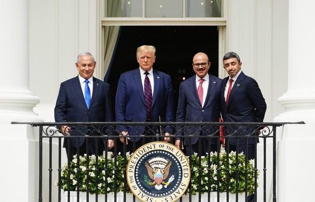 W Białym Domu podpisano porozumienia pokojowe między Izraelem a Zjednoczonymi Emiratami Arabskimi i Bahrajnem