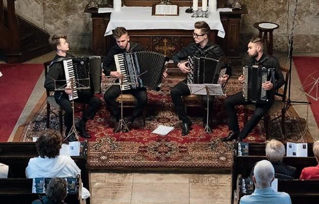Jednym z ubiegłorocznych wykonawców był Lwowski Kwartet Akordeonowy