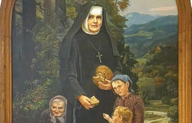 Obraz bł. Bernardyny w kaplicy Domu Modlitwy w Pizunach