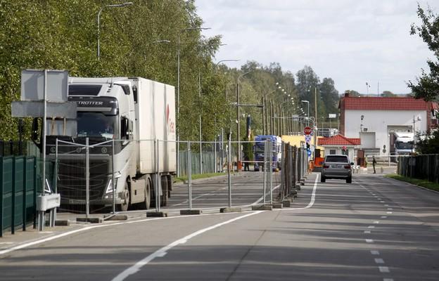 Na granicy między Litwą a Białorusią