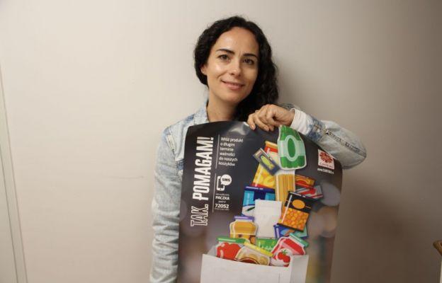 Ania Kobylińska zaprasza do udziału w zbiórce żywności Caritas