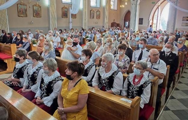 Uroczystość zgromadziła wielu wiernych