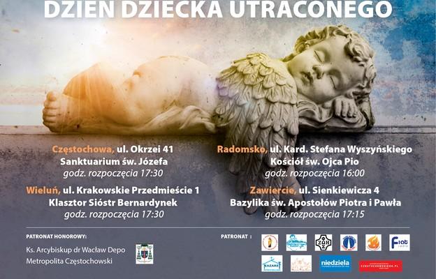 Już 15 października Dzień Dziecka Utraconego  w Archidiecezji Częstochowskiej