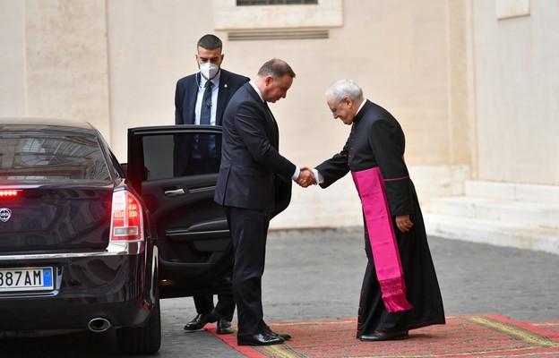 Prezydent z wizytą w Watykanie