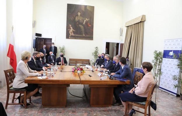 Prezydent Polski Andrzej Duda odwiedził Wspólnotę Sant'Egidio
