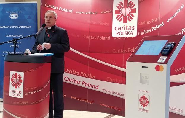 Jedenaście datkomatów od Mastercard i Caritas Polska stanie w kraju do końca października