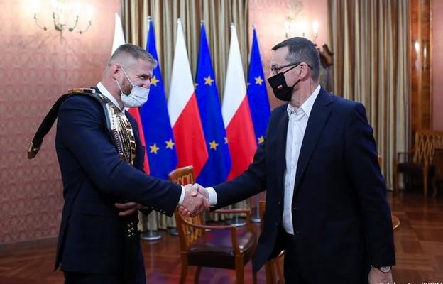 Spotkanie premiera z Janem Blachowiczem. Zdjęcie z Facebooka Mateusza Morawieckiego.