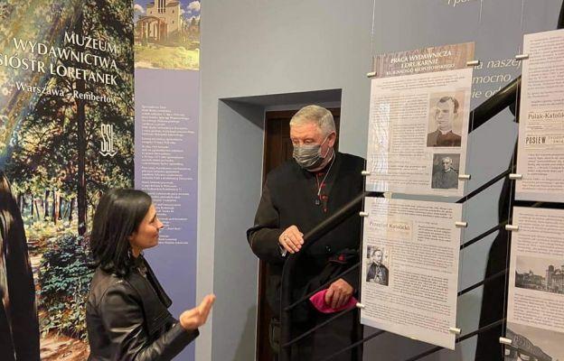 W otwarciu Muzeum Wydawnictwa Sióstr Loretanek uczestniczył bp Romuald Kamiński