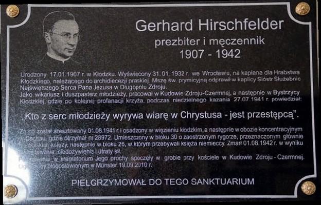 Księże Gerhardzie, potrzebujemy ciebie
