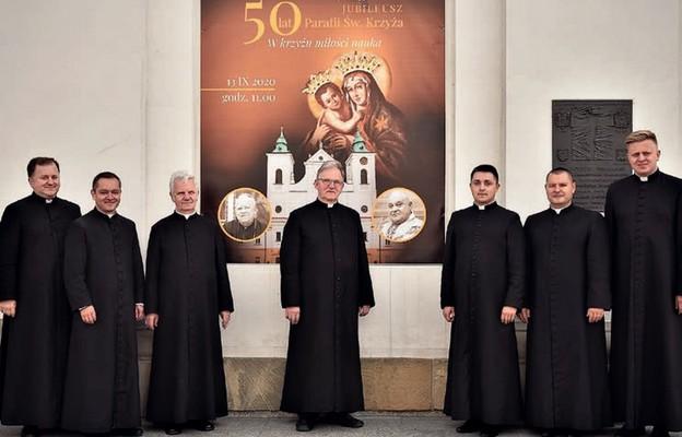 Złoty jubileusz parafii ŚwiętegoKrzyża