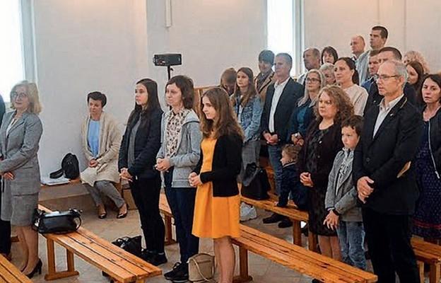 Msza św. w kaplicy ośrodka rekolekcyjnego NOE
