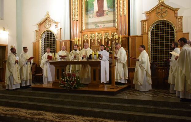Uczestnicy liturgii