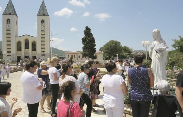 Do Medjugorie przed pandemią pielgrzymowało rocznie ok. 2 mln wiernych