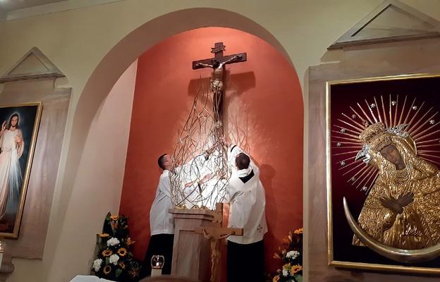 Kopia Krzyża Trybunalskiego została zainstalowana w kościele Michała Archanioła