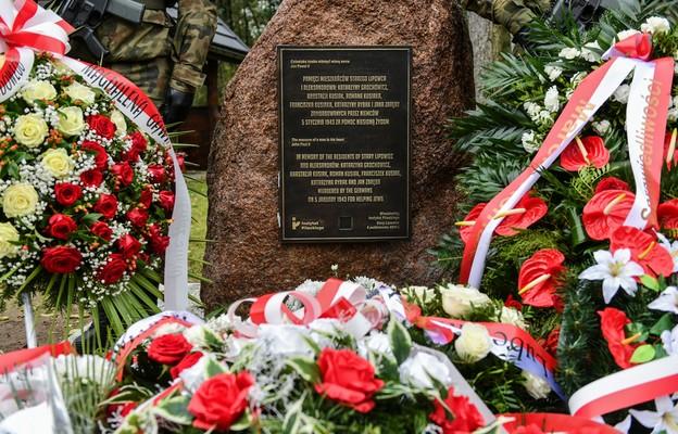 Stary Lipowiec: Upamiętniono zamordowanych przez Niemców za pomoc Żydom