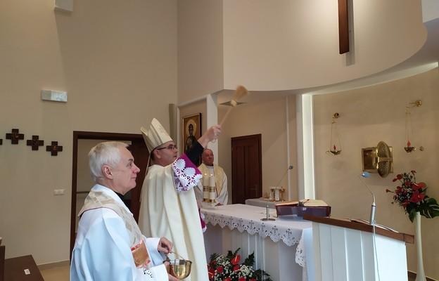 Poświęcenie kaplicy