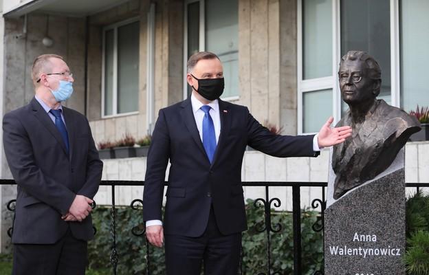 Odsłonięto pomnik Anny Walentynowicz w Kijowie