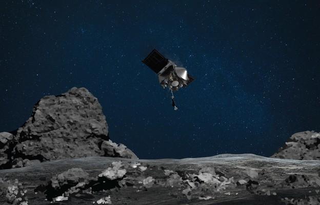 NASA poinformowała o sukcesie misji OSIRIS-REx.