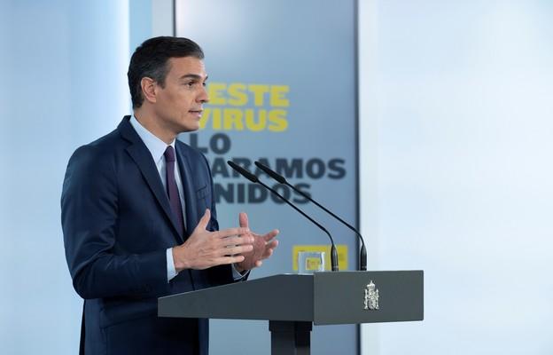 Premier Hiszpanii Pedro Sanchez