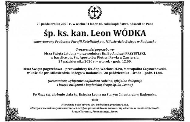 ks. Leon Wódka