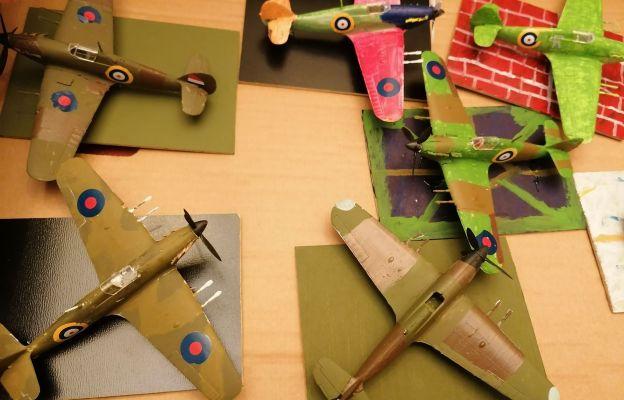 Bardzo ciekawe prace, modele przestrzenne samolotów, przekazała nam modelarnia ABC Model Hobby z Bytomia Odrzańskiego - mówi Magda Poradzisz-Cincio