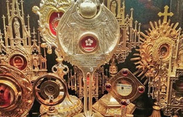 Relikwie świętych w kościele św. Stanisława w Czeladzi