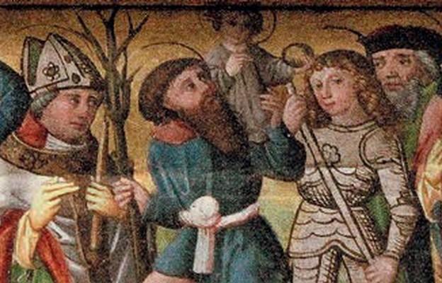 Wszyscy święci – fragment szesnastowiecznego ołtarza