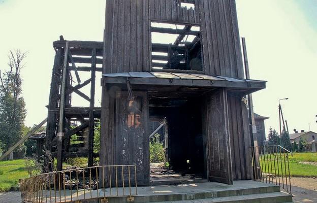 Kościół spłonął prawie doszczętnie