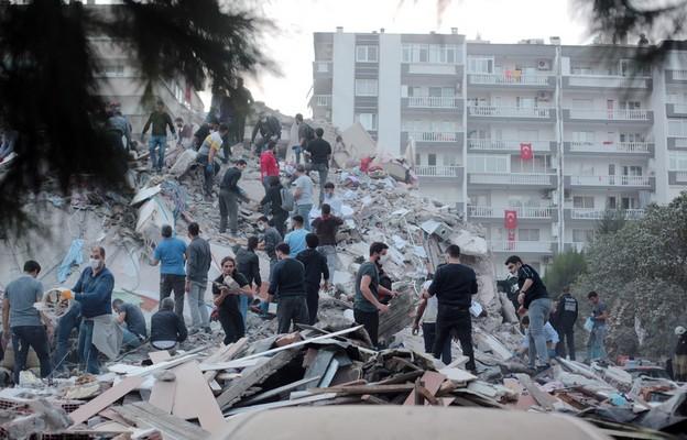 Grecja: Dwoje nastolatków zginęło podczas trzęsienia ziemi na wyspie Samos