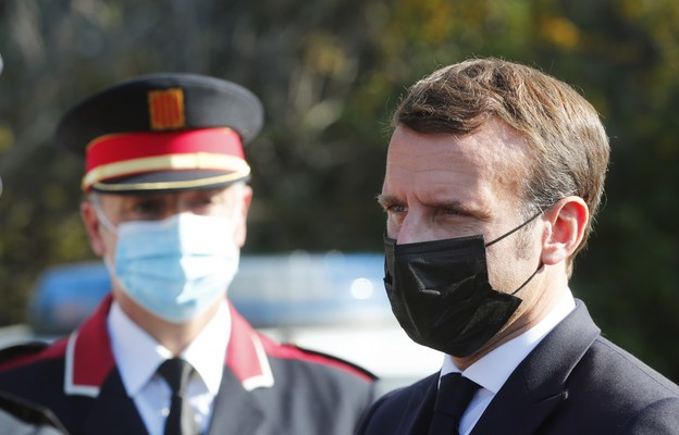 Prezyden Francji Emmanuel Macron