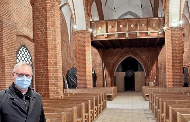 Niebiański zachwyt w katedrze