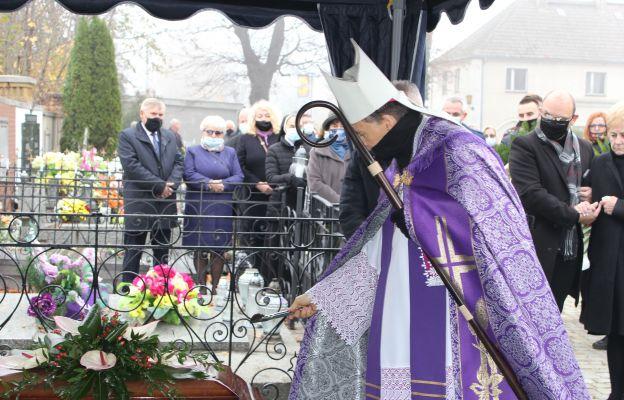 Pogrzeb Jerzego Krzywdy - przewodniczącego Rady Parafialnej w Strzegomiu