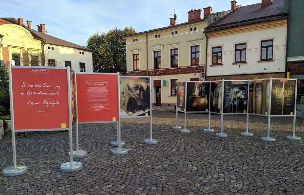 Wystawa na skoczowskim rynku